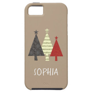 Christmas Tree Elegant Stylish Pattern Minimal iPhone 5 Cover