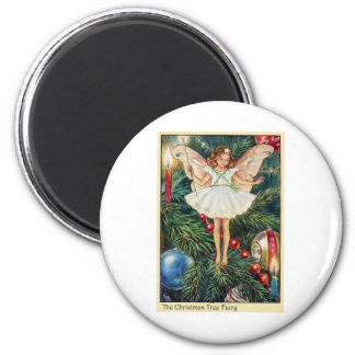 Christmas Tree Fairy Fridge Magnet