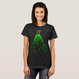 Christmas tree festive merry Xmas holly jolly T-Shirt