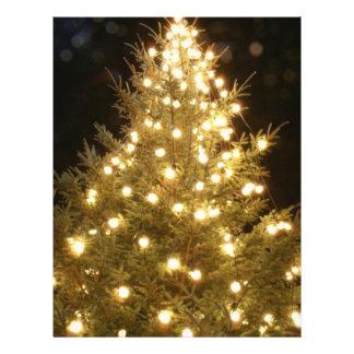 Christmas Tree Flyer Design