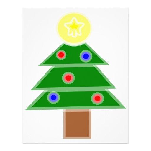 Christmas Tree Custom Flyer