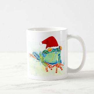 Christmas Tree Frog coffee cup