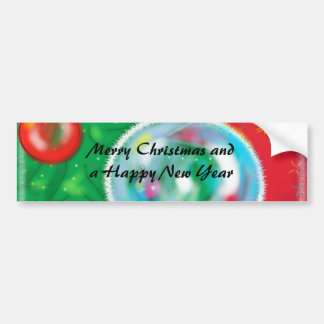 Christmas Tree - gorgeous Greeting Car Bumper Sticker