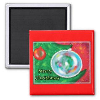 Christmas Tree - gorgeous Greeting Fridge Magnet
