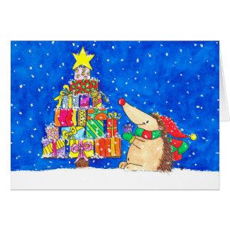 CHRISTMAS TREE greeting card by Nicole Janes
