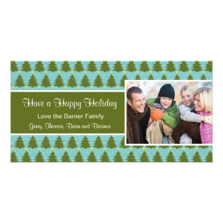 Christmas Tree Holiday Christmas Card Photo Card Template