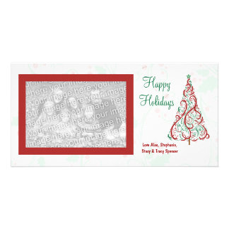 Christmas Tree Holiday Photo Cards