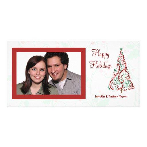 Christmas Tree Holiday Photo Cards