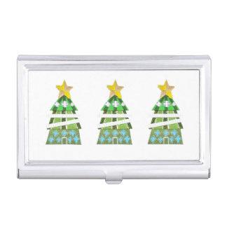 Christmas Tree Hotel Business Card Holder