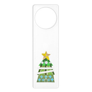 Christmas Tree Hotel Door Hanger