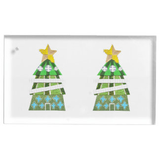Christmas Tree Hotel Table Card Holder