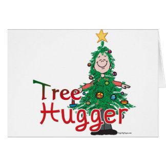 Christmas Tree Hugger Card