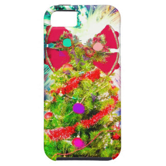 Christmas Tree in full colors Case For The iPhone 5