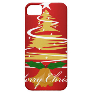 CHRISTMAS TREE IN RED AND GREEN iPhone 5 COVER