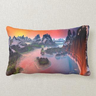 Christmas Tree Isle Land Polyester Pillow