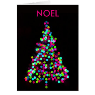 Christmas Tree Jewels Personalized Greeting Cards