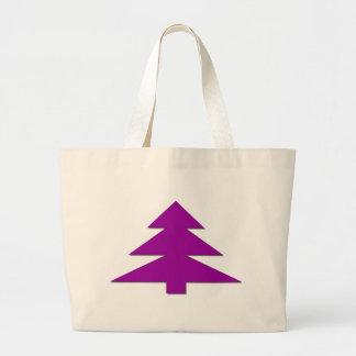 Christmas tree jumbo tote bag