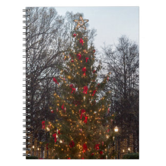 Christmas Tree Linn park Spiral Notebook