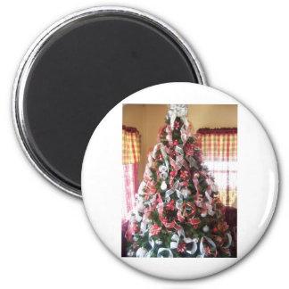 christmas tree refrigerator magnet