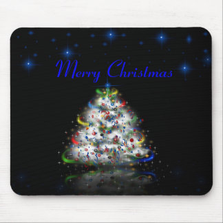 Christmas Tree Merry Christmas  Mousepad