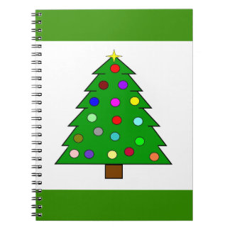 Christmas Tree (Merry Christmas) Notebook