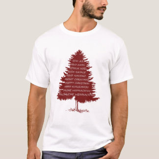 "Christmas tree ""Merry christmas"" T-Shirt"