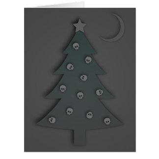 Christmas Tree Noir Card