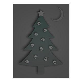 Christmas Tree Noir Postcard