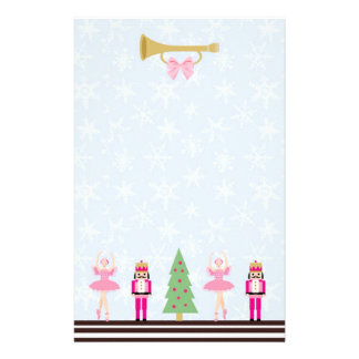 Christmas tree, Nutcracker, ballerina Stationery
