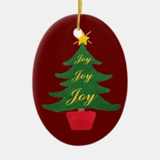Christmas Tree of Joy - Tree Ornament