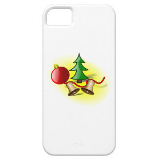 Christmas Tree Ornament and Bells iPhone 5 Cases