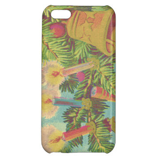 Christmas Tree Ornament Bell Candle iPhone 5C Cases