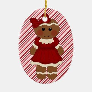 Christmas Tree Ornament Ginger Girl