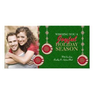 Christmas Tree Ornaments Holiday Photo Cards