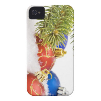 Christmas Tree Ornaments In Snow Case-Mate iPhone 4 Cases