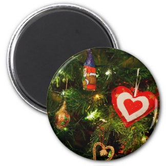 Christmas tree ornaments magnets