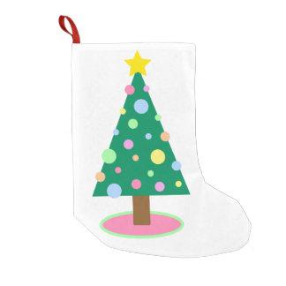Christmas tree pastel Christmas Stocking