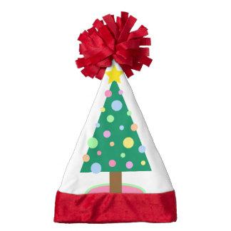 Christmas tree pastel Santa Hat