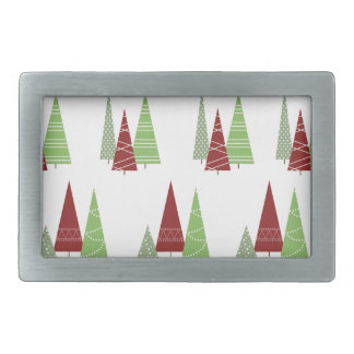 Christmas Tree Pattern Belt Buckle