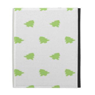 Christmas Tree Pattern iPad Case