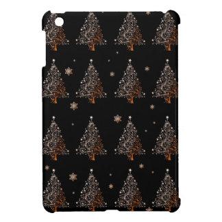 Christmas tree - pattern iPad mini cases