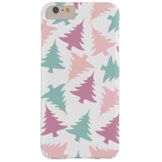 Christmas tree pattern pastel pink purple green barely there iPhone 6 plus case
