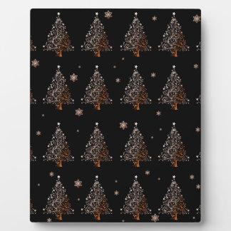 Christmas tree - pattern plaque