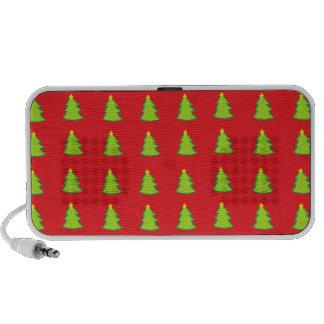 Christmas Tree Pattern Travelling Speakers