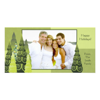 Christmas Tree Photo card