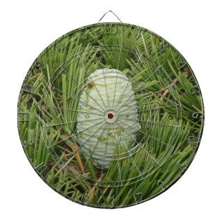 Christmas Tree Pine Cone Dartboard