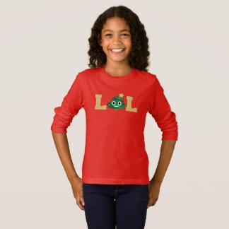 Christmas Tree Poop Emoji Tshirt