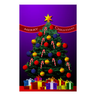 Christmas Tree  Poster for your wall