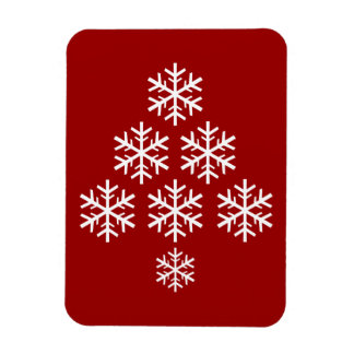 Christmas Tree Rectangular Photo Magnet