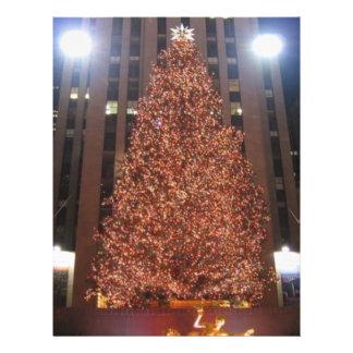 Christmas Tree Rockefeller Center 21.5 Cm X 28 Cm Flyer